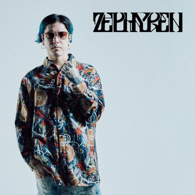 ZEPHYREN(ゼファレン) BIG SHIRT L/S 【シャツ 長袖】【Z21AD19】【2021AUTUMN&WINTER先行予約】【キャンセル不可】