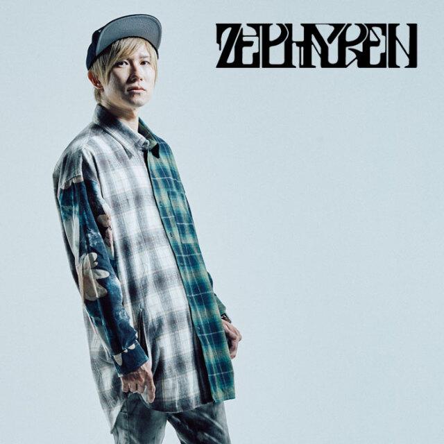 ZEPHYREN(ゼファレン) SWITCHING BIG SHIRT L/S -Resolve - 【シャツ 長袖】【Z21AD20】【2021AUTUMN&WINTER先行予約】【キャンセ