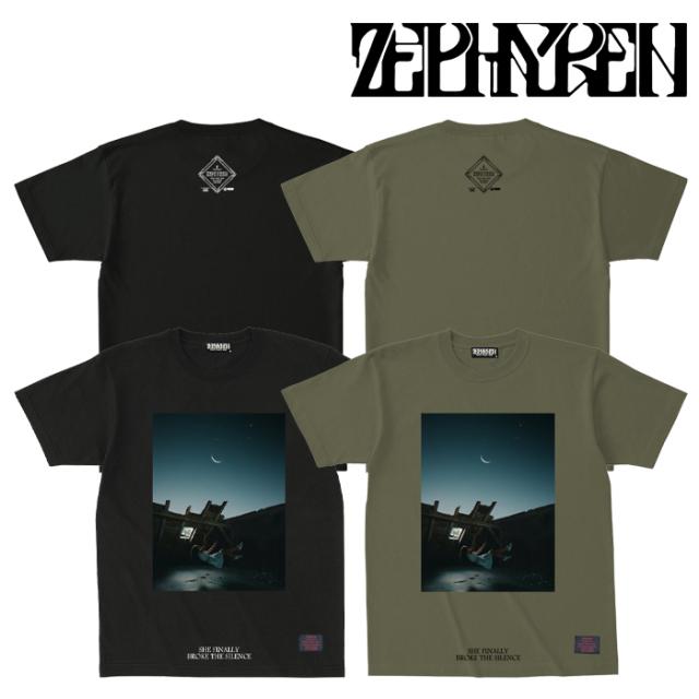 ZEPHYREN(ゼファレン) S/S TEE -宙- 【Tシャツ 半袖】【Z21AL26】【2021AUTUMN&WINTER先行予約】【キャンセル不可】
