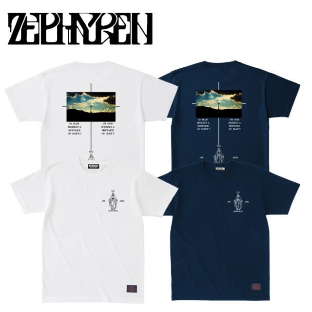 ZEPHYREN(ゼファレン) S/S TEE -twilight- 【Tシャツ 半袖】【Z21AL27】【2021AUTUMN&WINTER先行予約】【キャンセル不可】