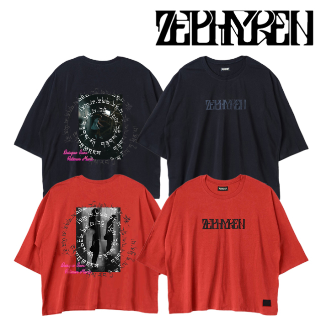 ZEPHYREN(ゼファレン) DOLMAN BIG TEE L/S -Creux /Reverie - 【Tシャツ】【Z21AM17】【2021AUTUMN&WINTER先行予約】【キャンセル