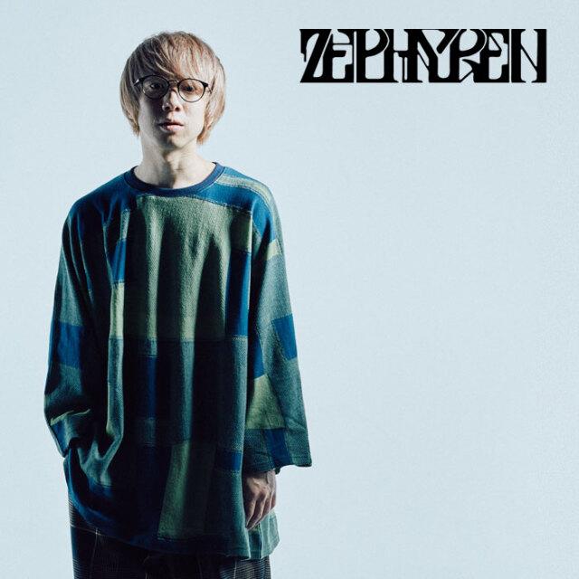 ZEPHYREN(ゼファレン) JACQUARD CUT L/S 【Tシャツ 長袖】【Z21AM24】【2021AUTUMN&WINTER先行予約】【キャンセル不可】
