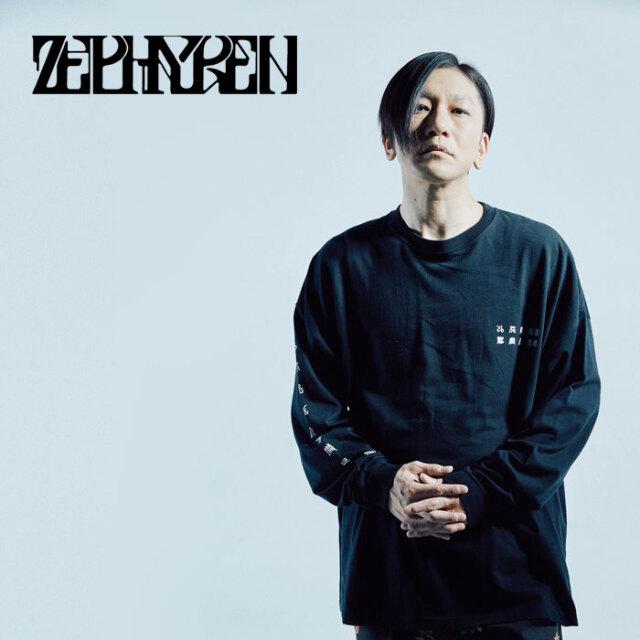 ZEPHYREN(ゼファレン) BIG L/S TEE -jua - 【Tシャツ 長袖】【Z21AM30】【2021AUTUMN&WINTER先行予約】【キャンセル不可】