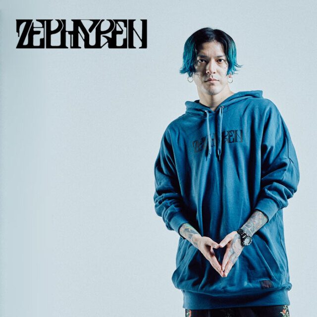 ZEPHYREN(ゼファレン) DOLMAN BIG PARKA PARKA -Creux /Reverie - 【パーカー】【Z21AN16】【2021AUTUMN&WINTER先行予約】【キャン