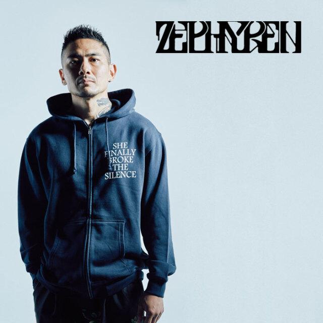 ZEPHYREN(ゼファレン) ZIP PARKA -宙- 【パーカー】【Z21AN33】【2021AUTUMN&WINTER先行予約】【キャンセル不可】