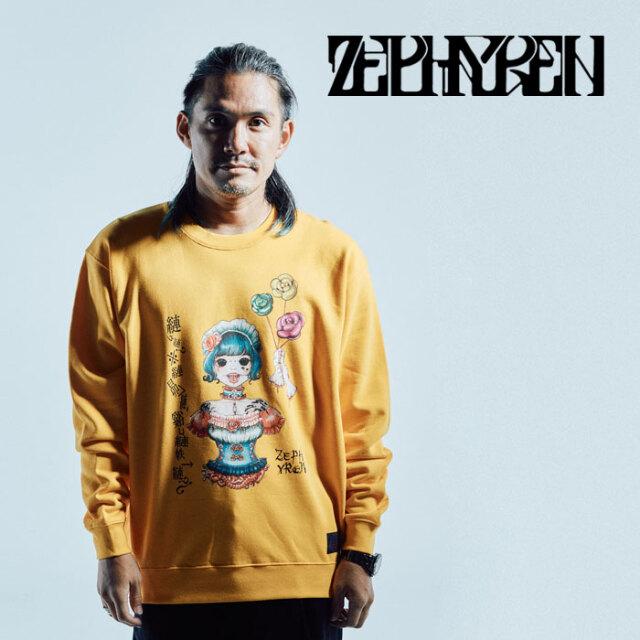 ZEPHYREN(ゼファレン) SWEAT -獨- 【スウェット】【Z21AO31】【2021AUTUMN&WINTER先行予約】【キャンセル不可】