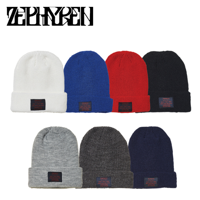 ZEPHYREN(ゼファレン) KNIT CABLE BEANIE -You Are Here - 【ニットキャップ】【Z21AU51】【2021AUTUMN&WINTER先行予約】【キャン