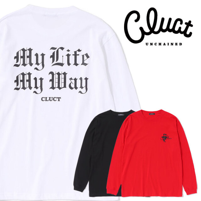 CLUCT(クラクト) CW-RAT LONG(R) 【ロングスリーブTシャツ 長袖】【#04152】【2020AUTUMN&WINTER先行予約】【キャンセル不可】