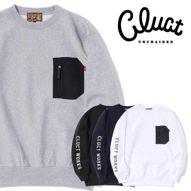 CLUCT(クラクト) CLT-CRW SWEAT 【クルーネックスウェット】【#04161】【2020AUTUMN&WINTER先行予約】【キャンセル不可】