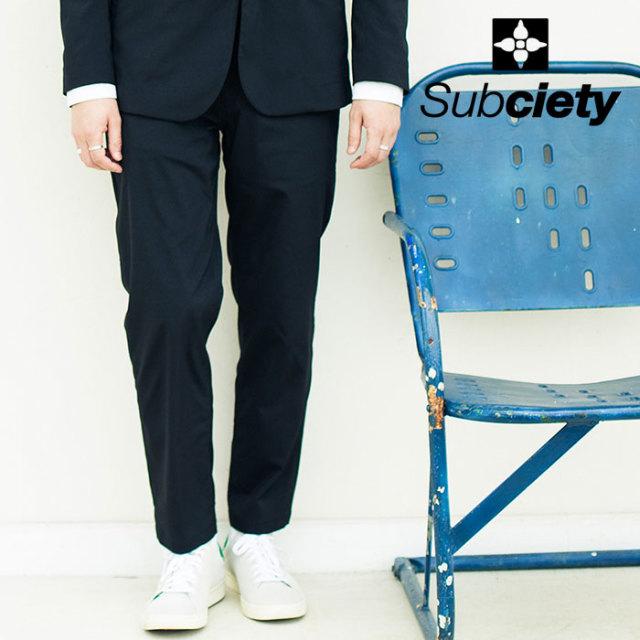 SUBCIETY(サブサエティ) SLACKS 【2020SPRING先行予約】 【キャンセル不可】【102-01520】【スラックス】