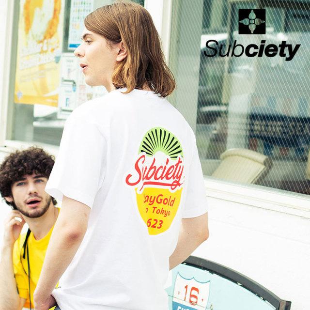 SUBCIETY(サブサエティ) TROPICAL S/S 【2020SPRING先行予約】 【キャンセル不可】【102-40519】【Tシャツ】