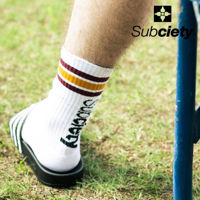 SUBCIETY(サブサエティ) SOCKS-THE BASE- 【ソックス 靴下】【2020SPRING新作】【102-80529】