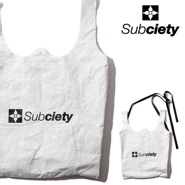 SUBCIETY(サブサエティ) MARKET BAG 【2020SPRING先行予約】 【キャンセル不可】【102-87534】【ショッピングバッグ】