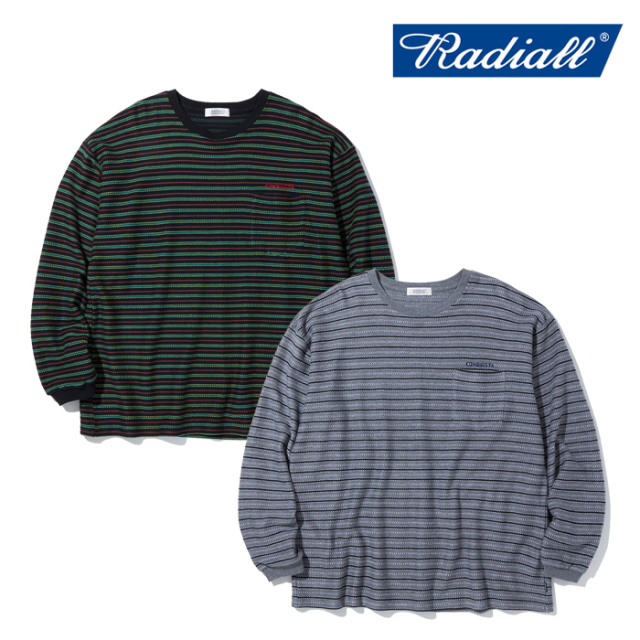 RADIALL (ラディアル)  DUBWISE - CREW NECK T-SHIRTS L/S  【Tシャツ 長袖】【2021 AUTUMN&WINTER COLLECTION】【RAD-21AW-CUT009