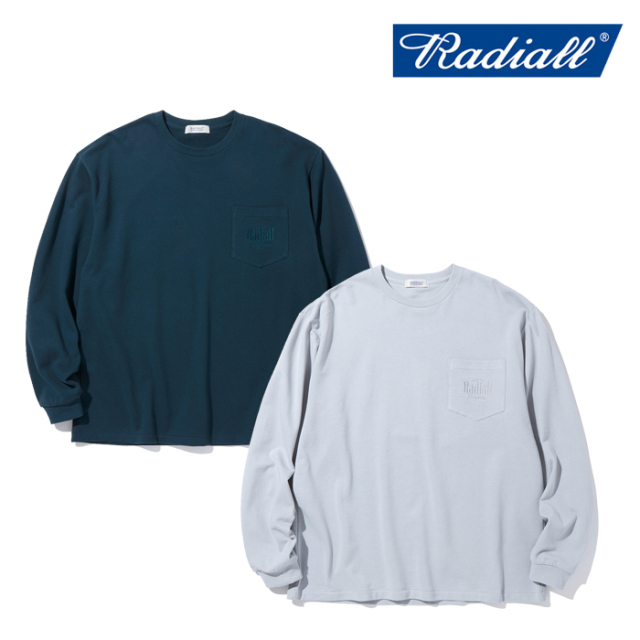 RADIALL (ラディアル)  MODELO - CREW NECK T-SHIRTS L/S【ロングスリーブTシャツ ロンT 長袖Tシャツ】【2021 AUTUMN&WINTER COLLEC
