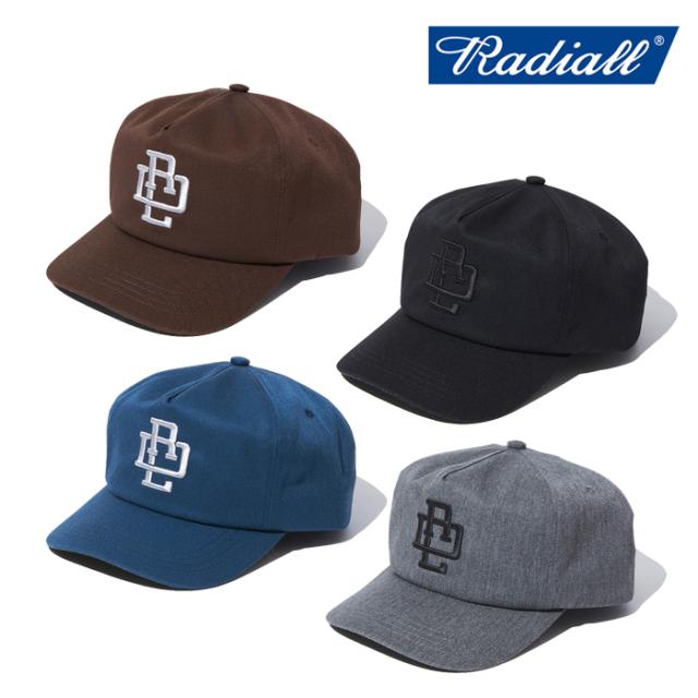 RADIALL (ラディアル)  COMPTON - BASEBALL CAP  【キャップ 帽子】【2021AUTUMN&WINTER】【RAD-21AW-HAT001】【インタープレイ I