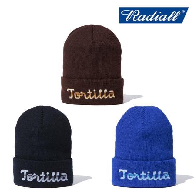 RADIALL (ラディアル)  TORTILLA - WATCH CAP  【ニットキャップ 帽子】【2021AUTUMN&WINTER】【RAD-21AW-HAT004】【インタープレ