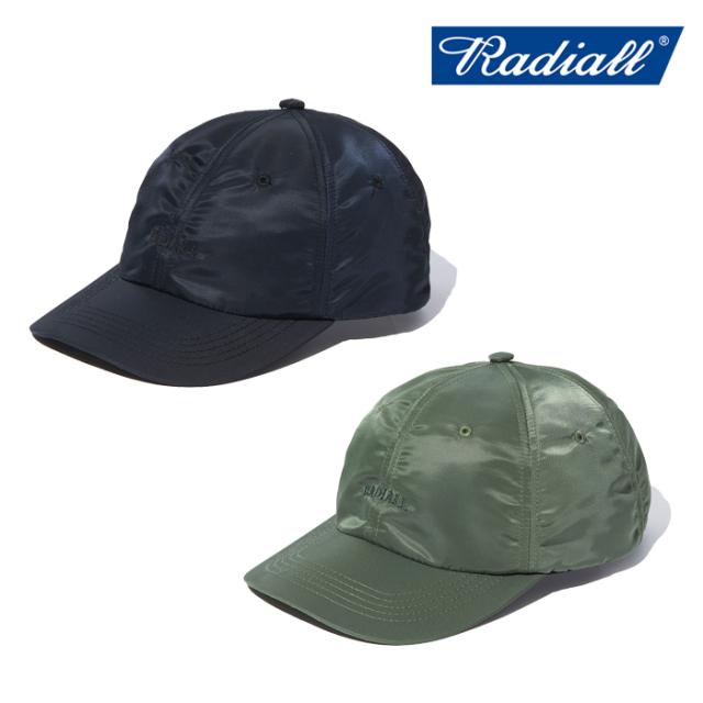 RADIALL (ラディアル) LOGOTYPE - BASEBALL LOW CAP  【キャップ 帽子】【2021AUTUMN&WINTER】【RAD-21AW-HAT009】【インタープレ