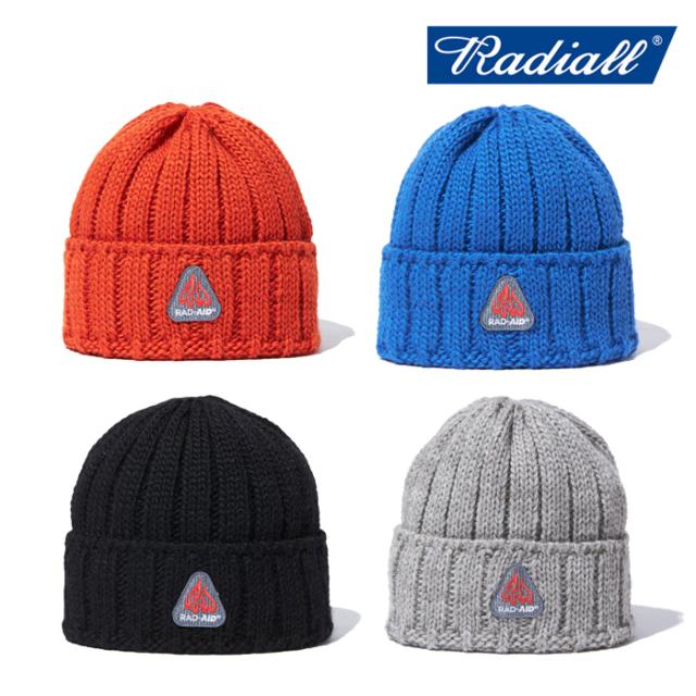 RADIALL ラディアル  RAD AID - WATCH CAP  【ワッチキャップ ニットキャップ ニット帽 帽子】【2021AUTUMN&WINTER】【RAD-21AW-H