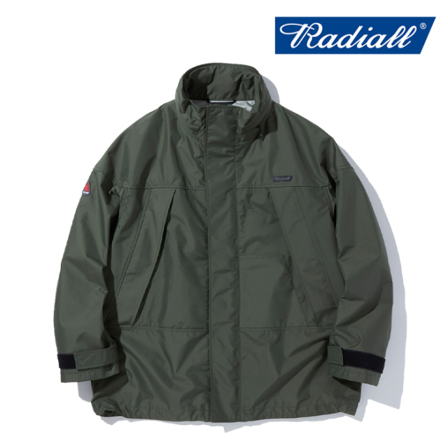 RADIALL (ラディアル)  RAD AID - SHELL COAT  【シェルコート】【2021 AUTUMN&WINTER COLLECTION】【RAD-21AW-JK007】【インター