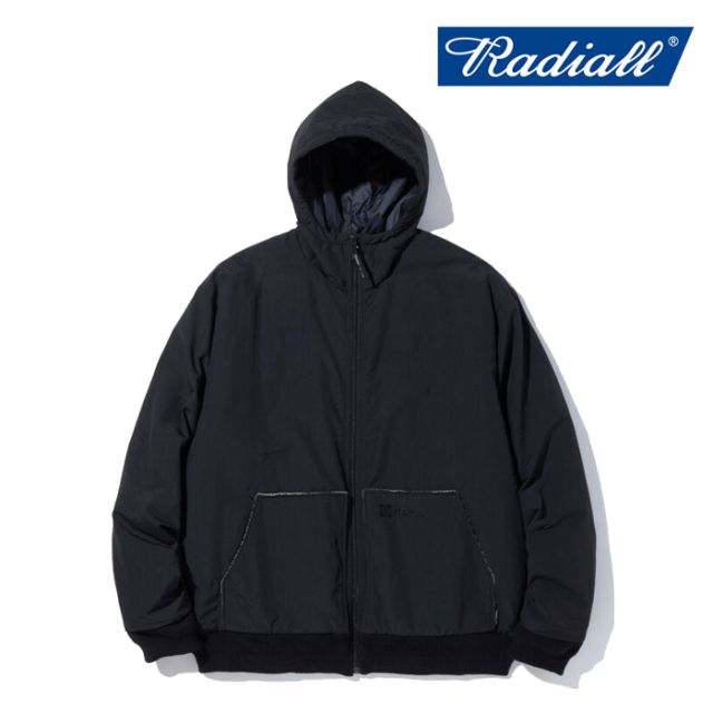 RADIALL ラディアル  NOVA - ZIP UP HOODED JACKET  【フードジャケット プリマロフト】【2021 AUTUMN&WINTER COLLECTION】【RAD-2