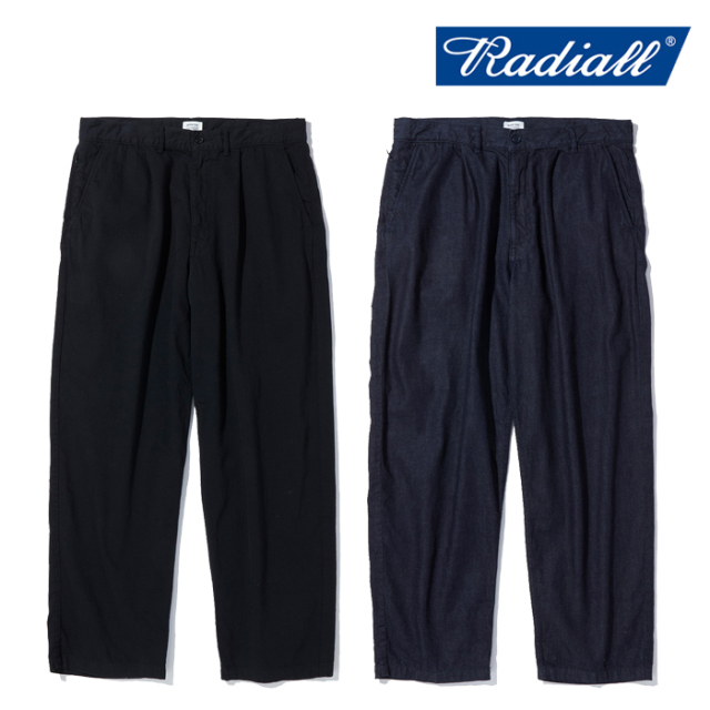 RADIALL ラディアル   KEYSTONE - WIDE FIT TROUSERS  【ワークパンツ】【2021 AUTUMN&WINTER COLLECTION】【RAD-21AW-PT001】【イ