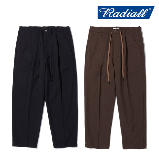 RADIALL ラディアル   LO-N-SLO - WIDE FIT TROUSERS  【テーパードパンツ】【2021 AUTUMN&WINTER COLLECTION】【RAD-21AW-PT006】