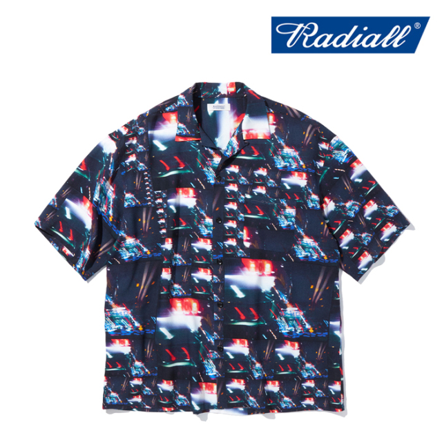 RADIALL (ラディアル)  LOW AND SLOW - OPEN COLLARED SHIRT S/S  【オープンカラーシャツ】【2021 AUTUMN&WINTER COLLECTION】【R