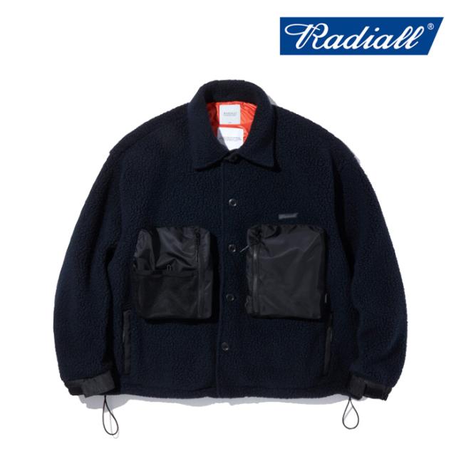 RADIALL ラディアル  FIELD - REGULAR COLLARED SHIRT L/S  【CPOシャツ アウター ポーラテック POLARTEC】【2021 AUTUMN&WINTER C