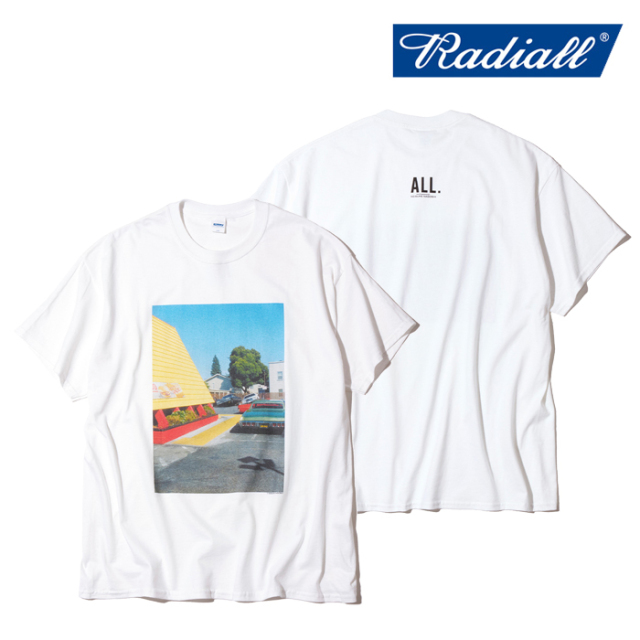 RADIALL(ラディアル) SAN JOSE - CREW NECK T-SHIRT S/S 【Tシャツ 半袖】【2021 SPRING&SUMMER COLLECTION】【RAD-ALL003】