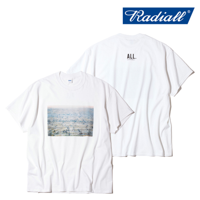 RADIALL(ラディアル) BAKERS FIELD - CREW NECK T-SHIRT S/S 【Tシャツ 半袖】【2021 SPRING&SUMMER COLLECTION】【RAD-ALL004】