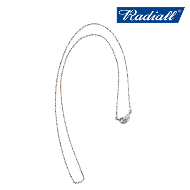 RADIALL (ラディアル)  MONTE CALRO NARROW - NECKLACE  【ネックレス】【2021 AUTUMN&WINTER COLLECTION】【RAD-JWL030-01】【イ