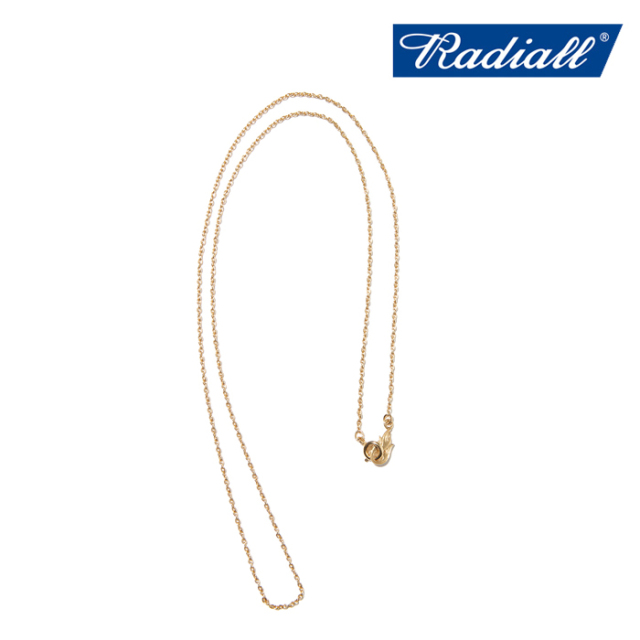 RADIALL (ラディアル)  MONTE CALRO NARROW - NECKLACE  【ネックレス】【2021 AUTUMN&WINTER COLLECTION】【RAD-JWL030-02】【イ