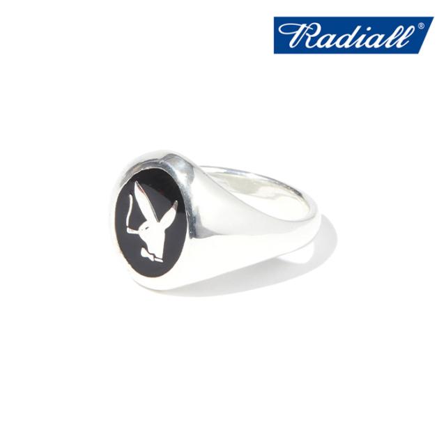 RADIALL (ラディアル)  BUNNY - PINKY RING  【ピンキーリング 指輪】【2021 AUTUMN&WINTER COLLECTION】【RAD-JWL031-01】【イン