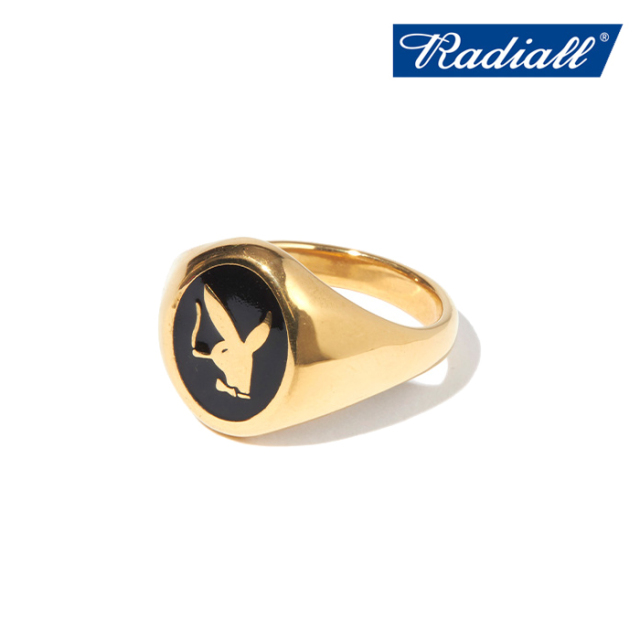 RADIALL (ラディアル)  BUNNY - PINKY RING  【ピンキーリング 指輪】【2021 AUTUMN&WINTER COLLECTION】【RAD-JWL031-02】【イン