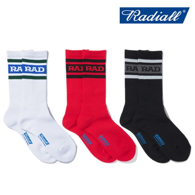 RADIALL (ラディアル)  HIGH KICK - 2PAC SOX LONG  【ソックス 靴下】【2021 SPRING&SUMMER SPOT】【RAD-PAC042】【インタープレ