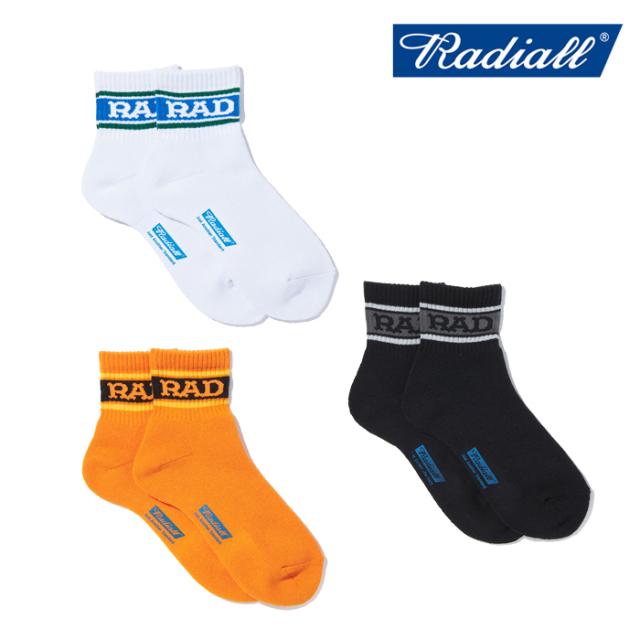 RADIALL(ラディアル) LOW KICK - 2PAC SOX SHORT 【ソックス 靴下】【2021 SPRING&SUMMER SPOT】【RAD-PAC043】