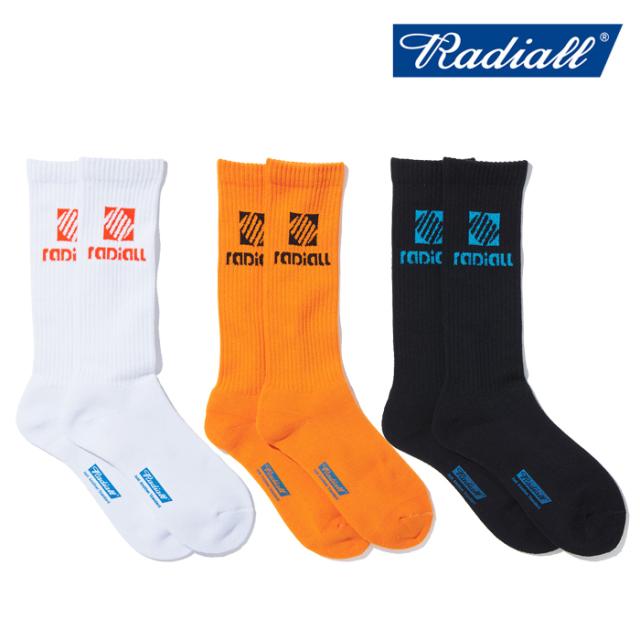 RADIALL (ラディアル)  COIL - 2PAC SOX LONG  【ソックス 靴下】【2021 SPRING&SUMMER SPOT】【RAD-PAC044】【インタープレイ INT