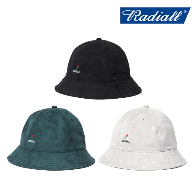 RADIALL (ラディアル) BRICK - BOWL HAT  【ボウルハット 帽子】【2021AUTUMN&WINTER】【RAD-21AW-HAT006】【インタープレイ INTE