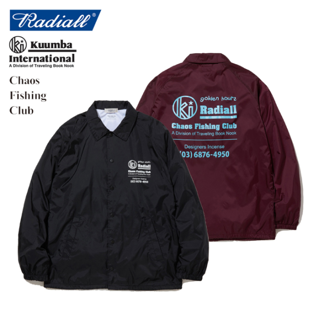 RADIALL(ラディアル) GOLDEN HOURS - WINDBREAKER JACKET 【2019 SPRING&SUMMER SPOT COLLECTION】 【RAD-19AW-SPOT-JW002】【ウ