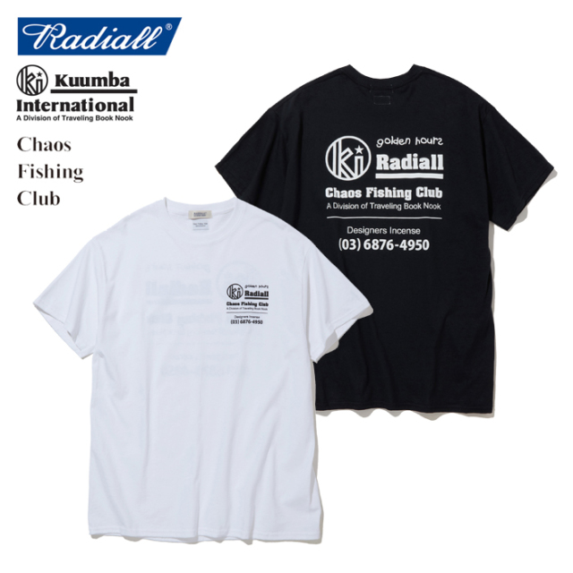 RADIALL(ラディアル) GOLDEN HOURS - CREW NECK T-SHIRT S/S 【2019 SPRING&SUMMER SPOT COLLECTION】 【RAD-19AW-SPOT-JW004】【