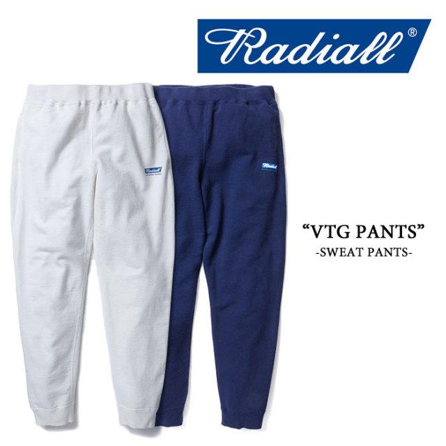 【SALE 30%OFF】RADIALL(ラディアル) VTG PANTS 【RADIALL スウェットパンツ】 【送料無料】 【RAD-16ss-CUT007】 【定価18000