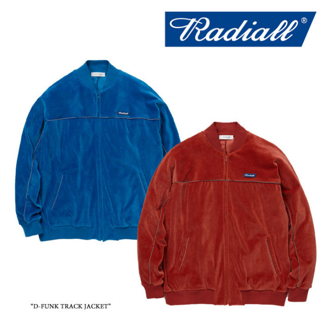 【SALE】 RADIALL(ラディアル) D-FUNK TRACK JACKET 【2017AUTUMN/WINTER新作】【RAD-17AW-CUT012】