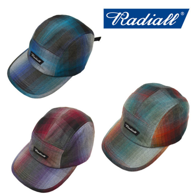 【SALE】 RADIALL(ラディアル) SHOE BOX - JET CAP 【2018 SPRING&SUMMER SPOT】 【RADIALL キャップ】 【RAD-18SS-SPOT-HAT002