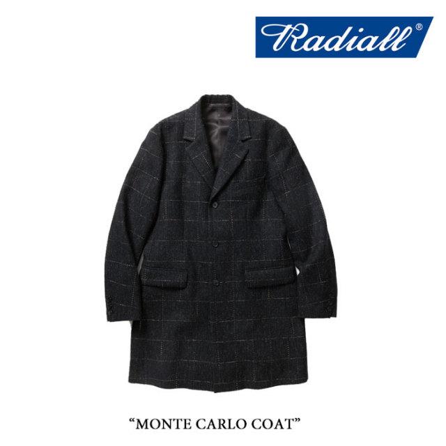【SALE30%OFF】RADIALL(ラディアル) MONTE CARLO COAT 【送料無料】【即発送可能】 【RADIALL アウター】 【RAD-16AW-JK021】