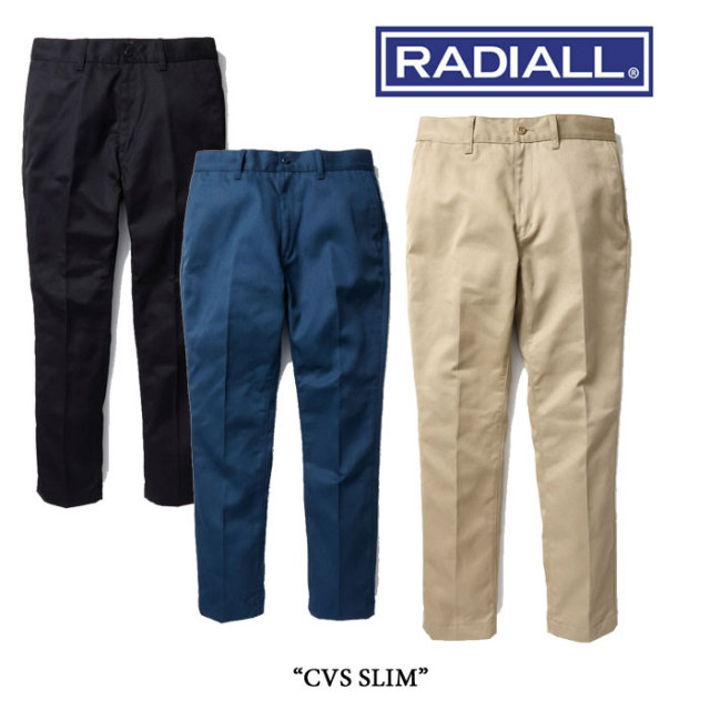RADIALL(ラディアル) CVS WORK PANTS SLIM 【2017 SPRING/SUMMER 新作!】 【送料無料】 【RAD-CVS-PT002】 【RADIALL ワークパ