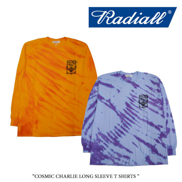 【SALE】 RADIALL(ラディアル) COSMIC CHARLIE LONG SLEEVE T SHIRTS  【2017A/W SPOT COLLECTION新作】 【即発送可能】 【RADI