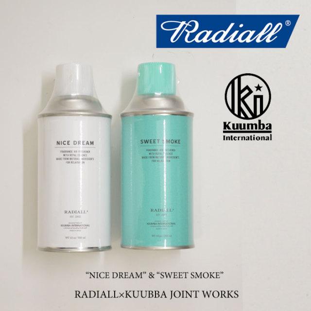 RADIALL(ラディアル) SWEET SMOKE SPRAY air freshner spray(エアフレッシュナースプレー) 【RADIALL エアフレッシュナースプレー