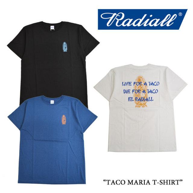 RADIALL(ラディアル) TACO MARIA T-SHIRT 【2017 SUMMER SPOT 】 【即発送可能】 【RADIALL Tシャツ】 【RAD17SSS-TEE02】