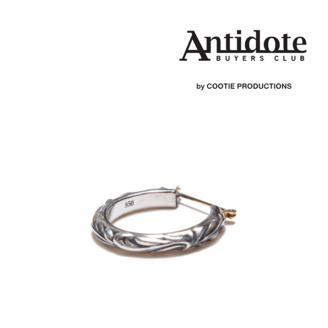 ANTIDOTE BUYERS CLUB(アンチドートバイヤーズクラブ)Ornament Earring (Single) 【RX-01-804】